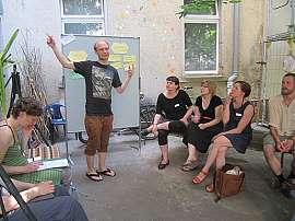 Erfahrungs- und Vernetzungswerkstatt Juni 2013 in der Ludwigstraße 99