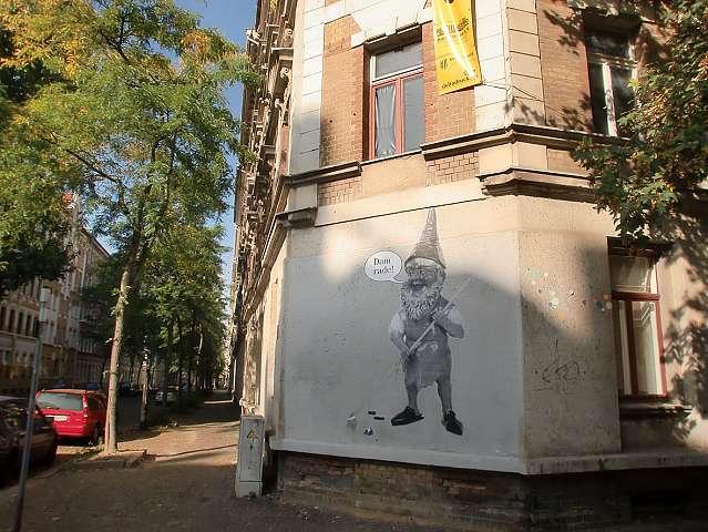 Street Art an der LU 99 - Oktober 2011